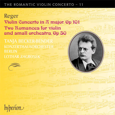 Violin Concerto in A major  / Two Romances