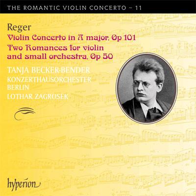 Violin Concerto in A major  / Two Romances