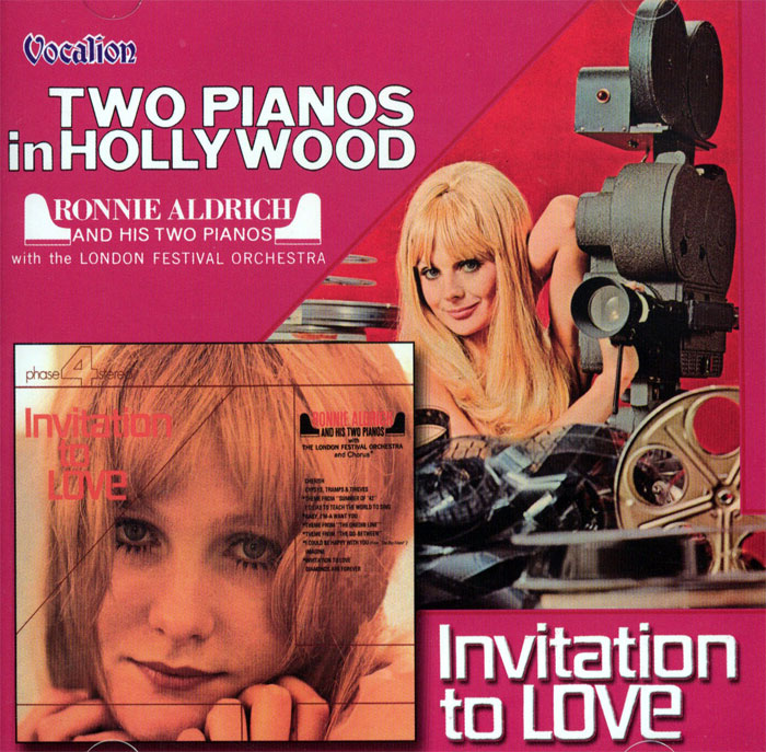 Two Pianos in Hollywood / Invitation to Love - 2 plyty winylowe na 1CD