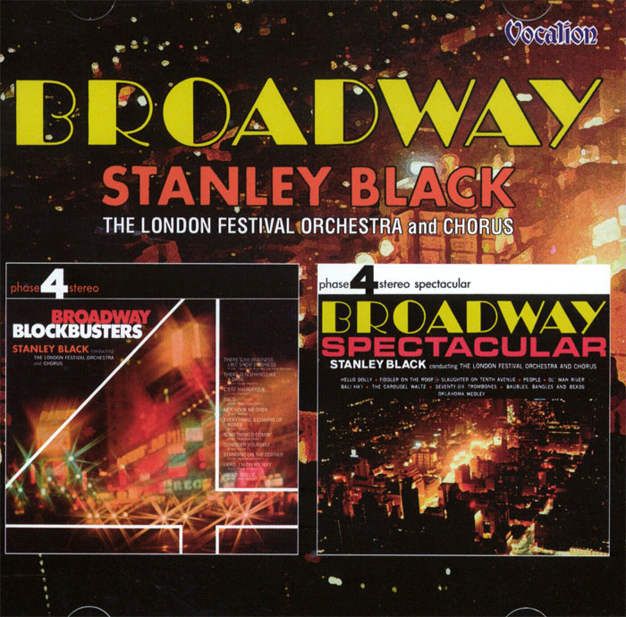 Broadway Blockbusters & Broadway Spectacular - 2 plyty winylowe na 1CD