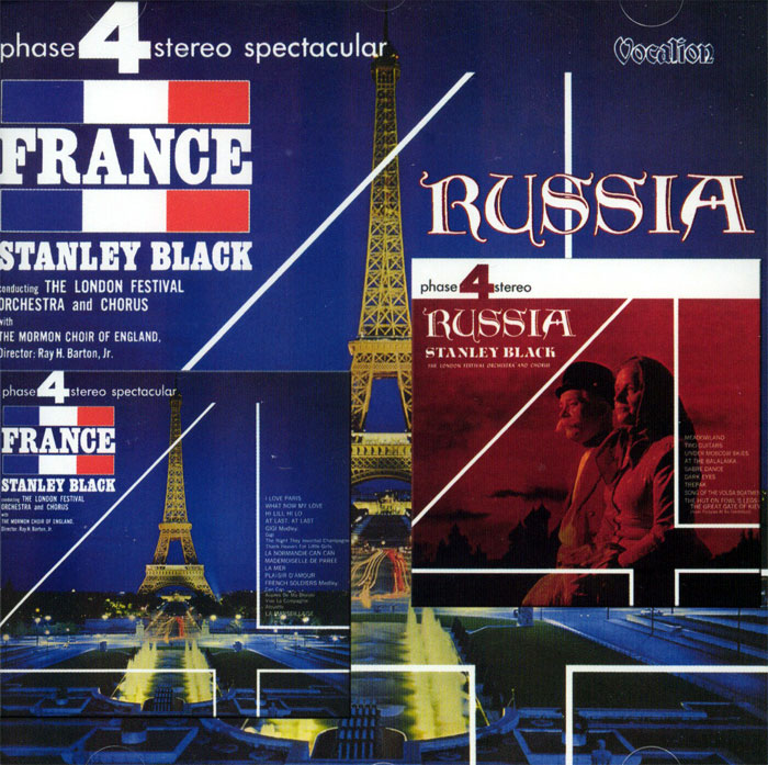 France & Russia - 2 plyty winylowe na 1CD