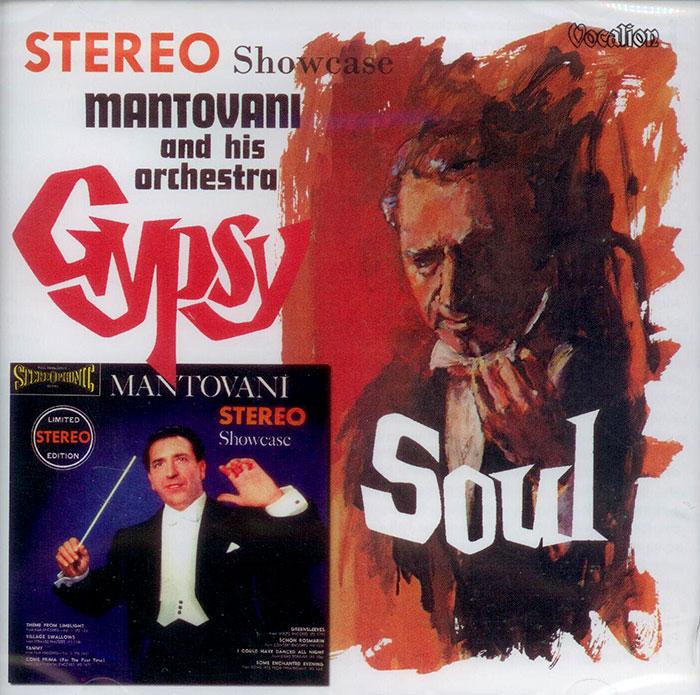Gypsy Soul / Stereo Showcase -  z komentarzem maestro Mantovaniego!  - 2 plyty winylowe na 1CD