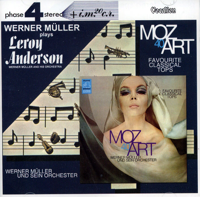 Plays Leroy Anderson and Mozart - 2 plyty winylowe na 1CD