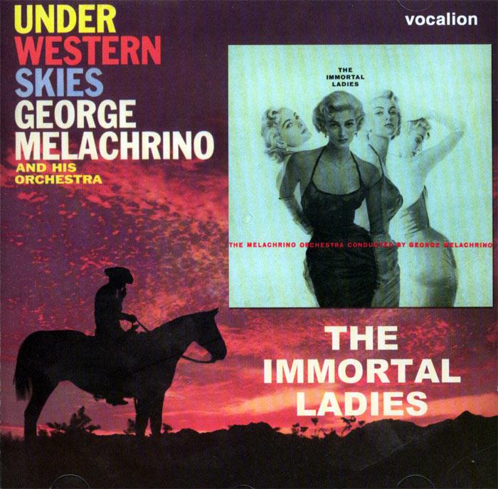 The Immortal Ladies / Under Western Skies - 2 plyty winylowe na 1CD