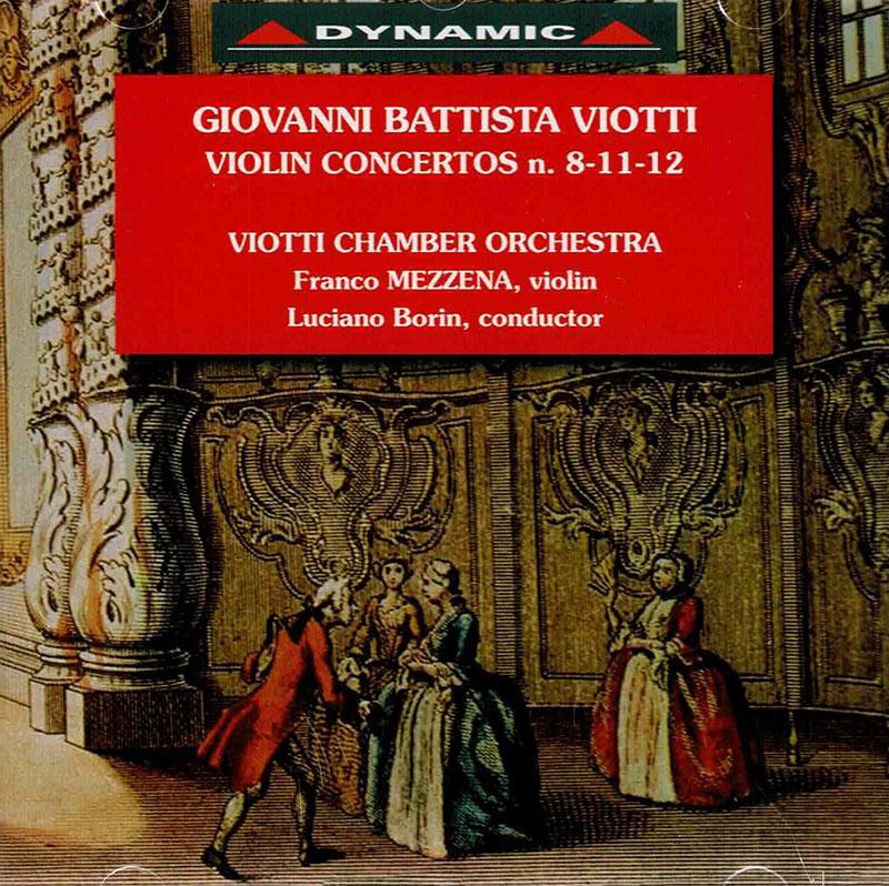 Complete violin concertos vol.1 -  No. 8, 11, 12