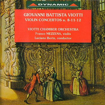 Complete violin concertos vol.1 -  No. 8, 11, 12