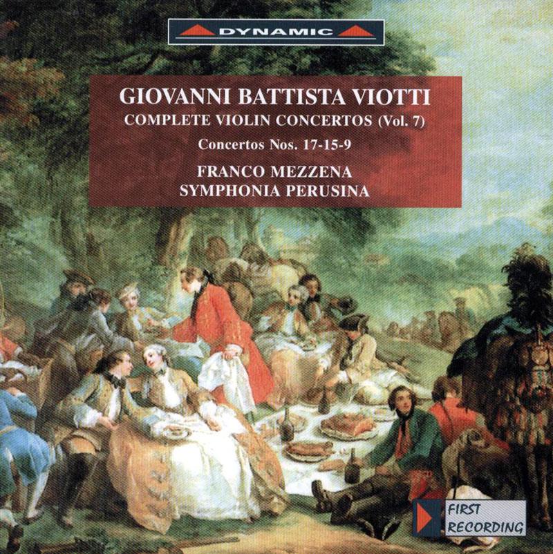Complete Violin Concertos (Vol. 7) - Concertos Nos. 17-15-9