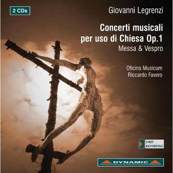 Concerti musicali per uso di Chiesa Op.1