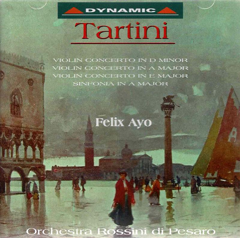 Violin Concerto in D Major, E Minor, B Minor