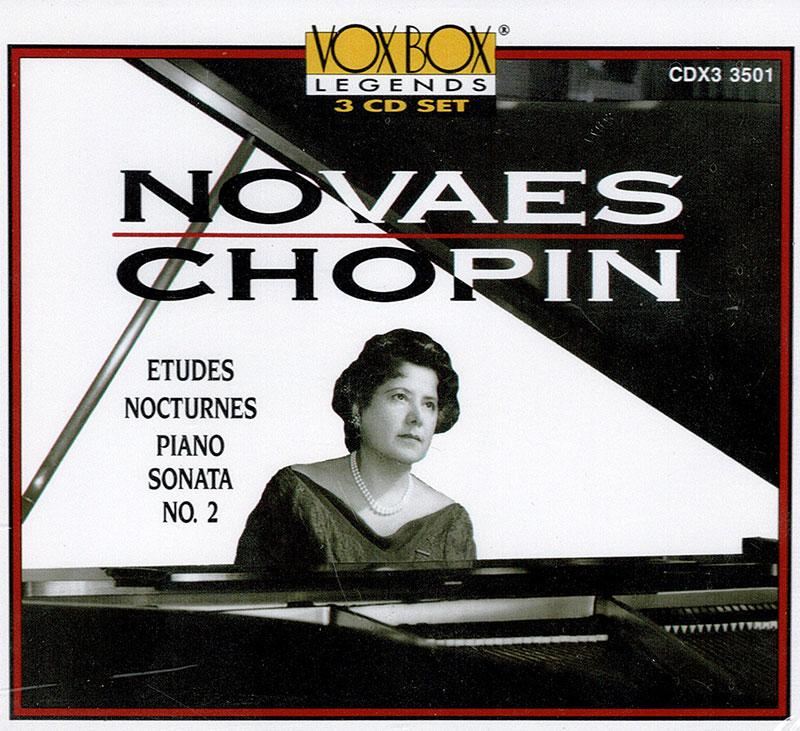 Edudes, Nocturnes, Piano Sonata 2