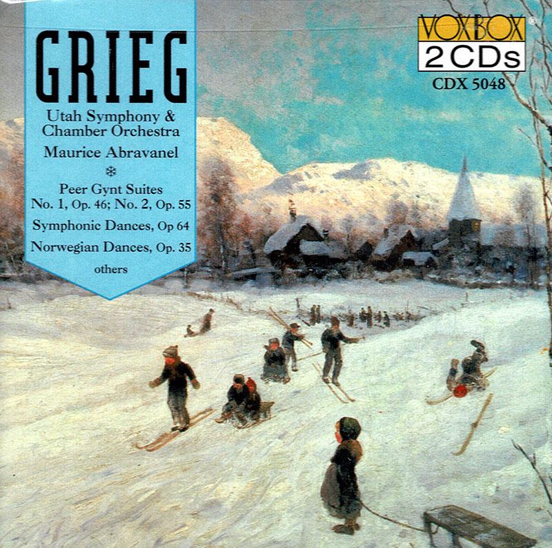 Peer Gynt Suites 1 & 2 / Symphonic Dances / Norwegian Dances