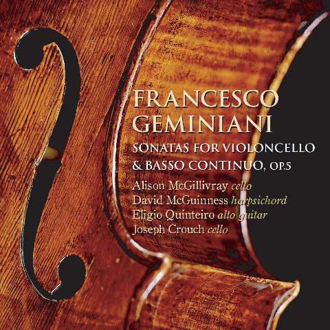 Sonatas for Violoncello & Basso Continuo, Piece de Clavecin
