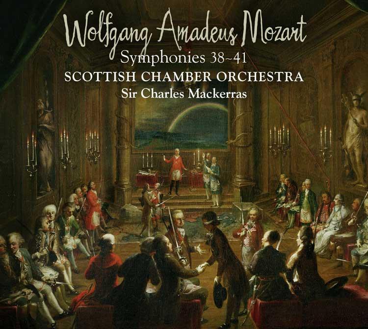 Symphonies 38 - 41
