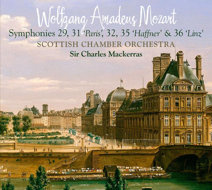 Symphonies 29, 31 PARIS, 32, 35 HAFFNER, 36 LINZ