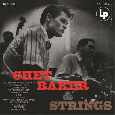 Chet Baker and Strings image