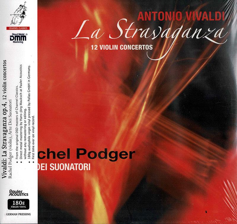 La Stravaganza - 12 Violin Concertos image