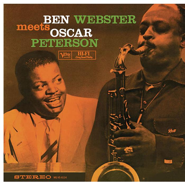 Ben Webster meets Oscar Peterson image