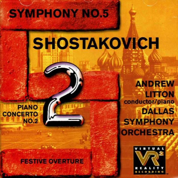 Festive Overture / Piano Concerto No. 2 / Symphony No. 5 image
