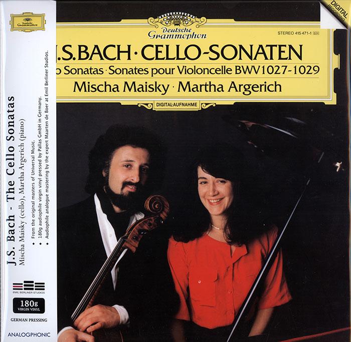 Cello Sonatas BMV 1027-1029
