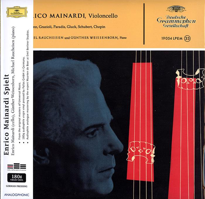 Enrico Mainardi play cello...