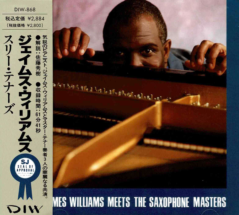 James Williams Meets The Saxophone Masters image