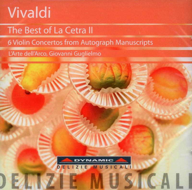 The Best of La Cetra II - 6 violin concertos from autograph manuscripts (1728) image