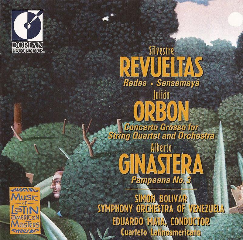 Redes / Sensemaya / Concerto Grosso for String Quartet / Pampeana no. 3 image