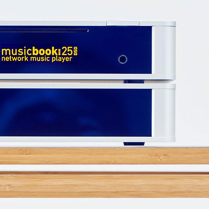 Sieciowy odtwarzacz muzyki - musicbook:20/25 DSD