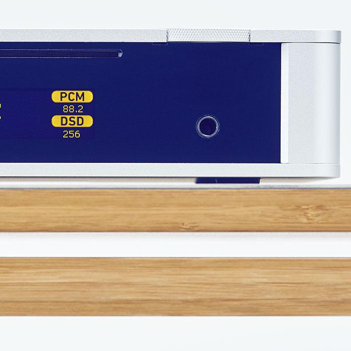 Cyfrowo analogowy przetwornik USB z odczytem DSD256 i bluetooth - musicbook:10/15
