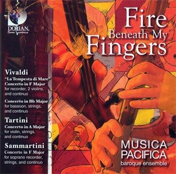 Fire Beneath My Fingers