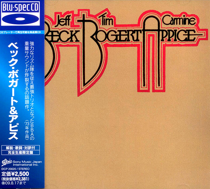 Beck, Bogert and Appice image