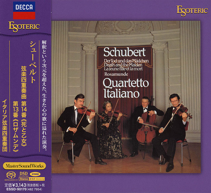 Club Cd Schubert String Quartetts