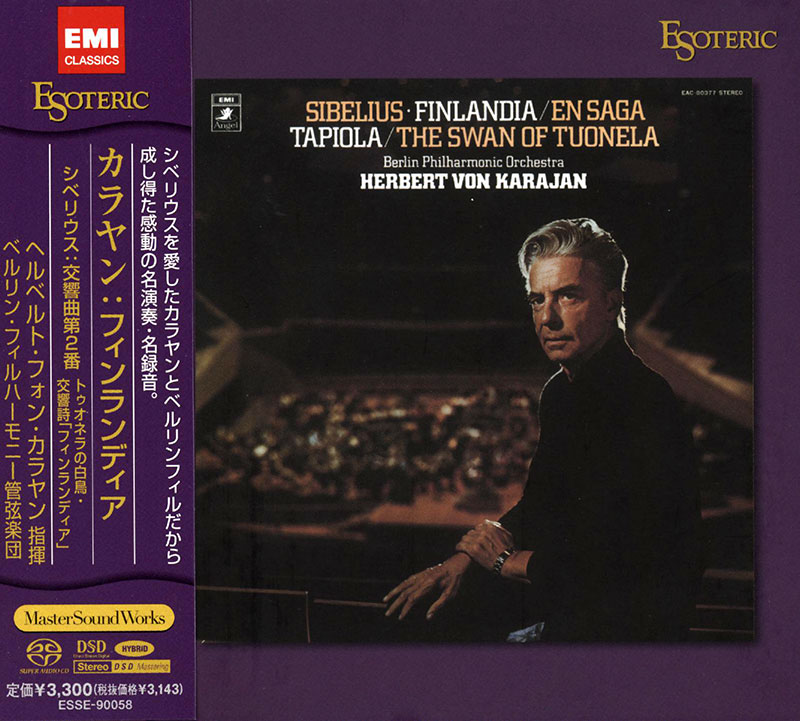 Symphony No. 2 in D major, Op. 43 / Finlandia / The Swan of Tuonela /  image