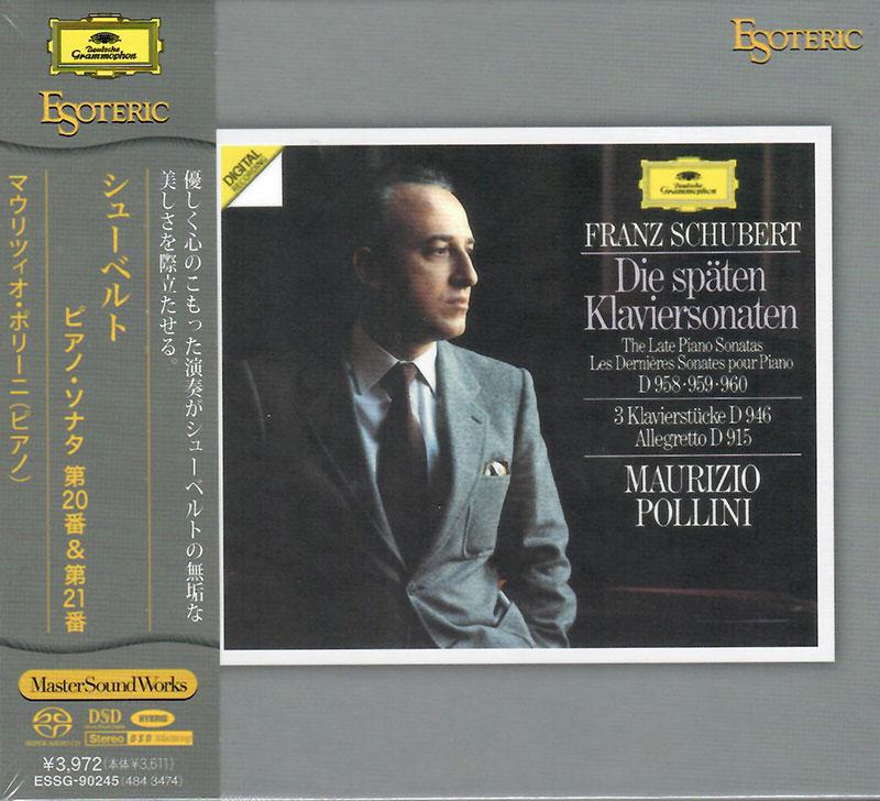 Piano Sonata in A major, D 959 (op. post.) / Piano Sonata in B flat major, D 960 (op. post.)