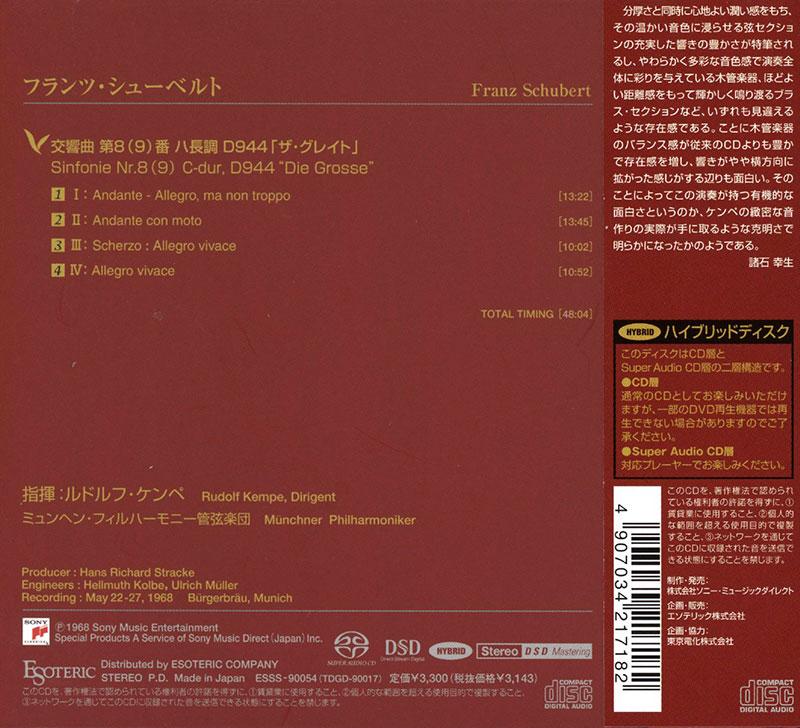 Schubert C Dur Sinfonie