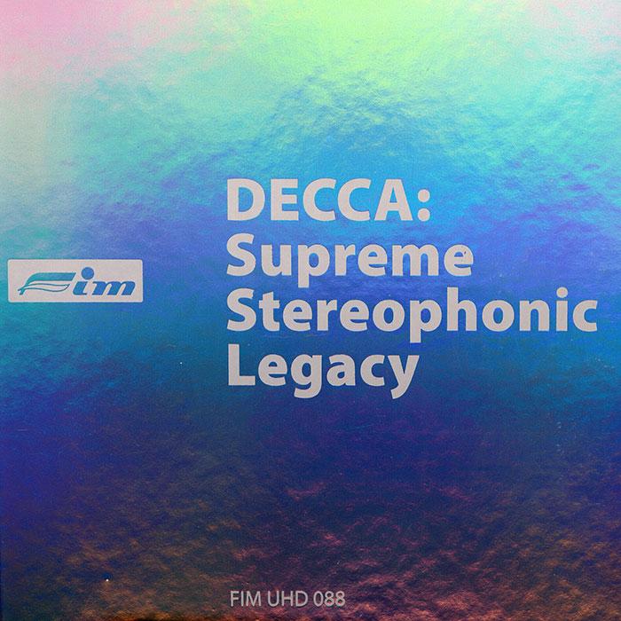 DECCA:  Supreme Stereophnic Legacy