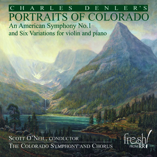 An American Symphony No. 1 and Six Variations for violin and piano