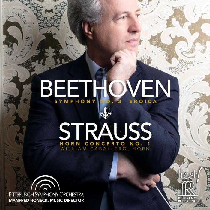 Symphony No. 3, Op. 55 'Eroica'  / Horn Concerto No. 1, Op. 11 image