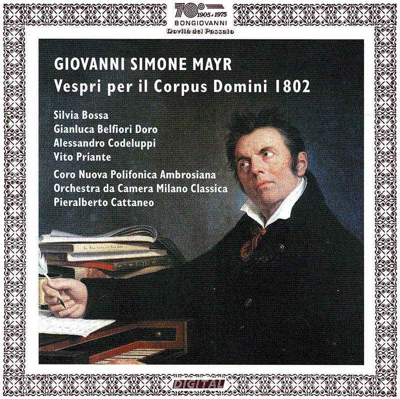 Vespri pe il Corpus Domini