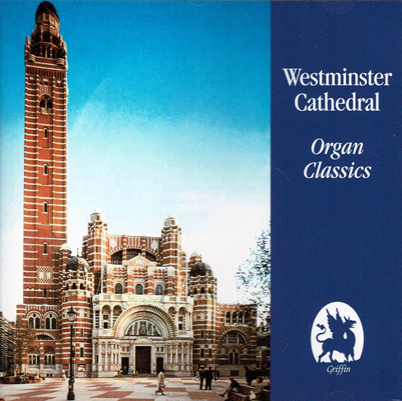 Westminister Cathedral Organ Classics image