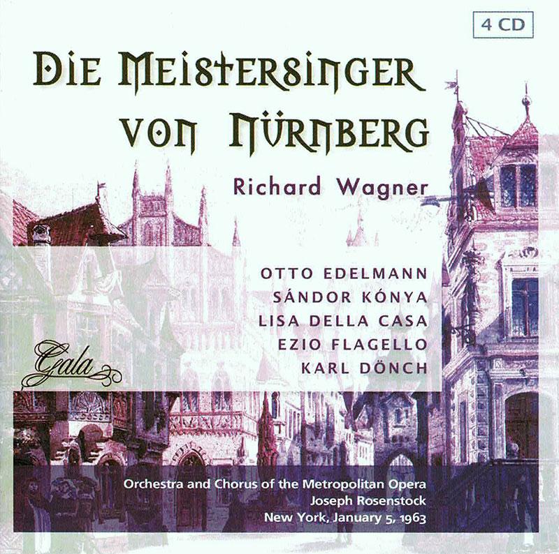 Doe Meistersinger von Nurnberg