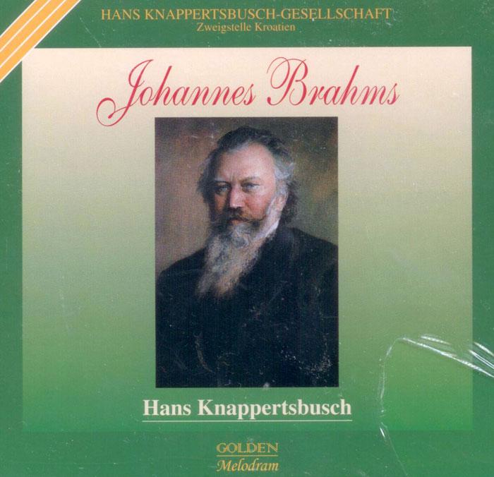 Knappartsbusch spielt Brahms
