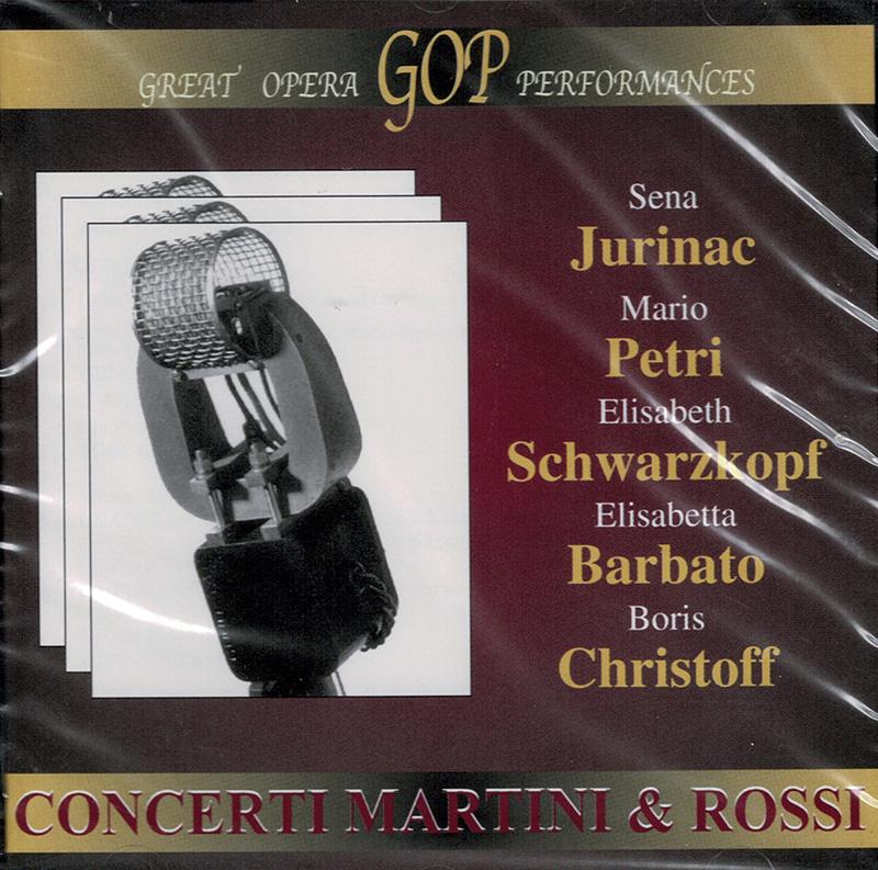 Concerti Martini & Rossi