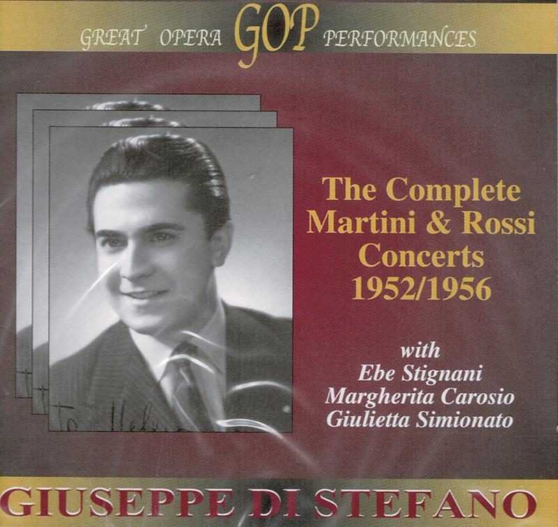 Complete Concerti Martini and Rossi 1952/1956