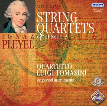 3 String Quartets op.11