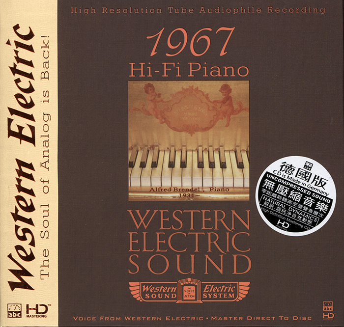 1967 - Hi-Fi Piano - Master direct to Disc