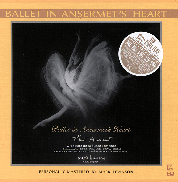 Ballet in Ansermet's Heart - Personally mastered by Mark Levinson