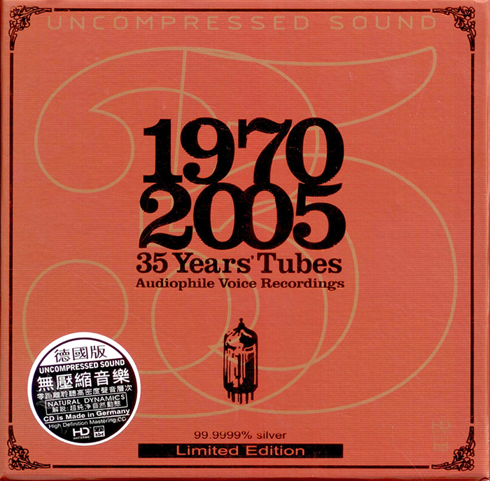 1970-2005: 35 Years' Tubes - Audiophile Voice Recordings