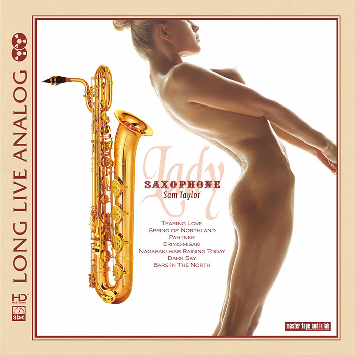 Saxophone Lady - Sam Taylor - SILVER CD