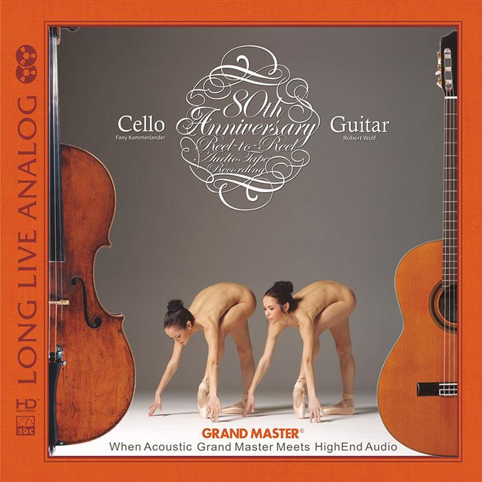 Long Live Analog - Cello & Guitar - SILVER CD